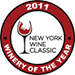 New York Wine Classic Winery of the year 2011